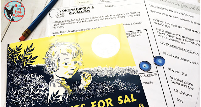 Blueberries for Sal is a great mentor text for teaching figurative language.