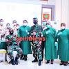 Kodam Hasanuddin Gelar Vaksinasi Nasional Covid-19 Tahap II Bagi Prajurit dan PNS TNI