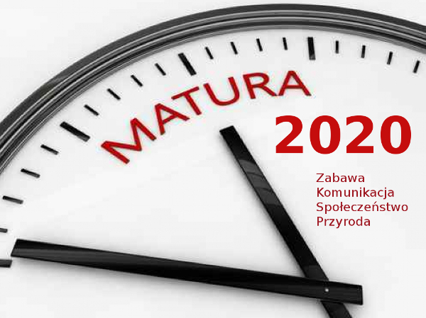 Szkoła Minimalna: Matura 2020