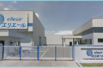 Lowngan Kerja Terbaru PT. Elleair International Manufacturing Indonesia