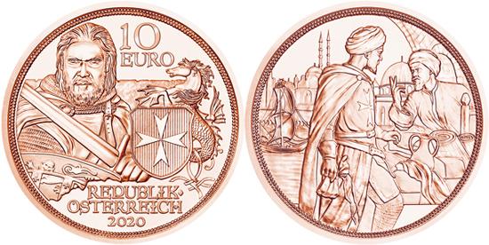 Austria 10 euro 2020 - Fortitude