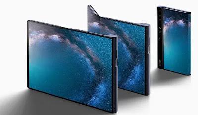 Smartphone Huawei Mate X yang dapat dilipat akan tersedia dalam jumlah terbatas mulai bulan depan