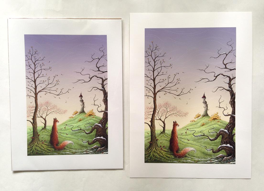 redbubble photographic print vs art print