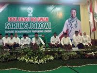 Relawan 'Sarung Jokowi' Akan Deklarasi di 14.000 Pesantren