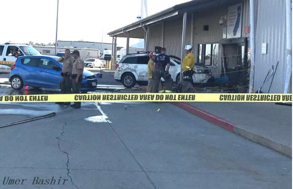 REDDING, Calif. - Authorities confirmed Saturday that at least two people have been killed and four others injured in a shooting at a Northern California Walmart distribution center.     The killer - an employee at the facility - is identified as Martin Harrow-Lozano, 45, of Orland, California.