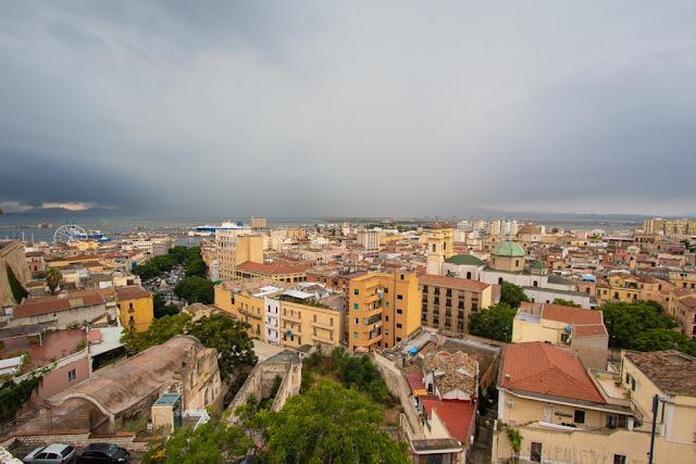 Vista dal Bastione di Santa Croce-Cagliari