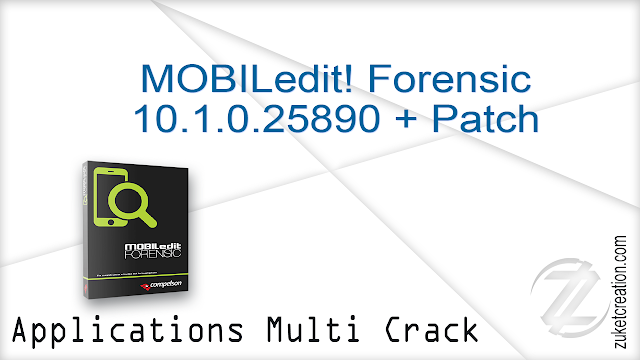 MOBILedit! Forensic 10.1.0.25890 + Patch  |  86 MB