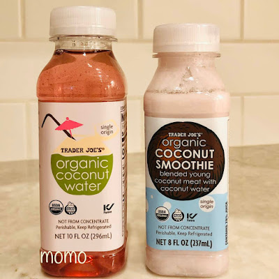 Trader Joe's Organic Coconut Water and Smoothie