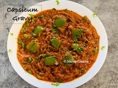 capsicum gravy