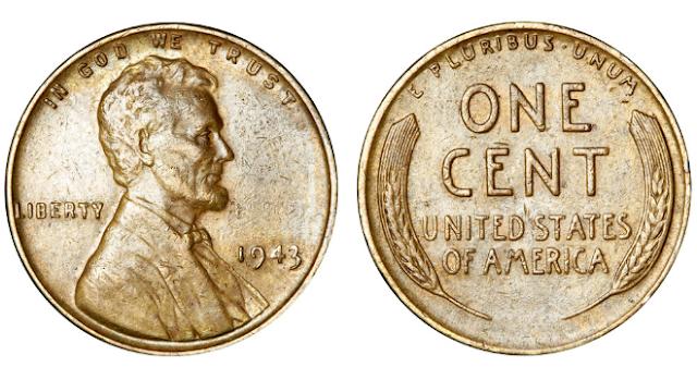 1943 steel penny value