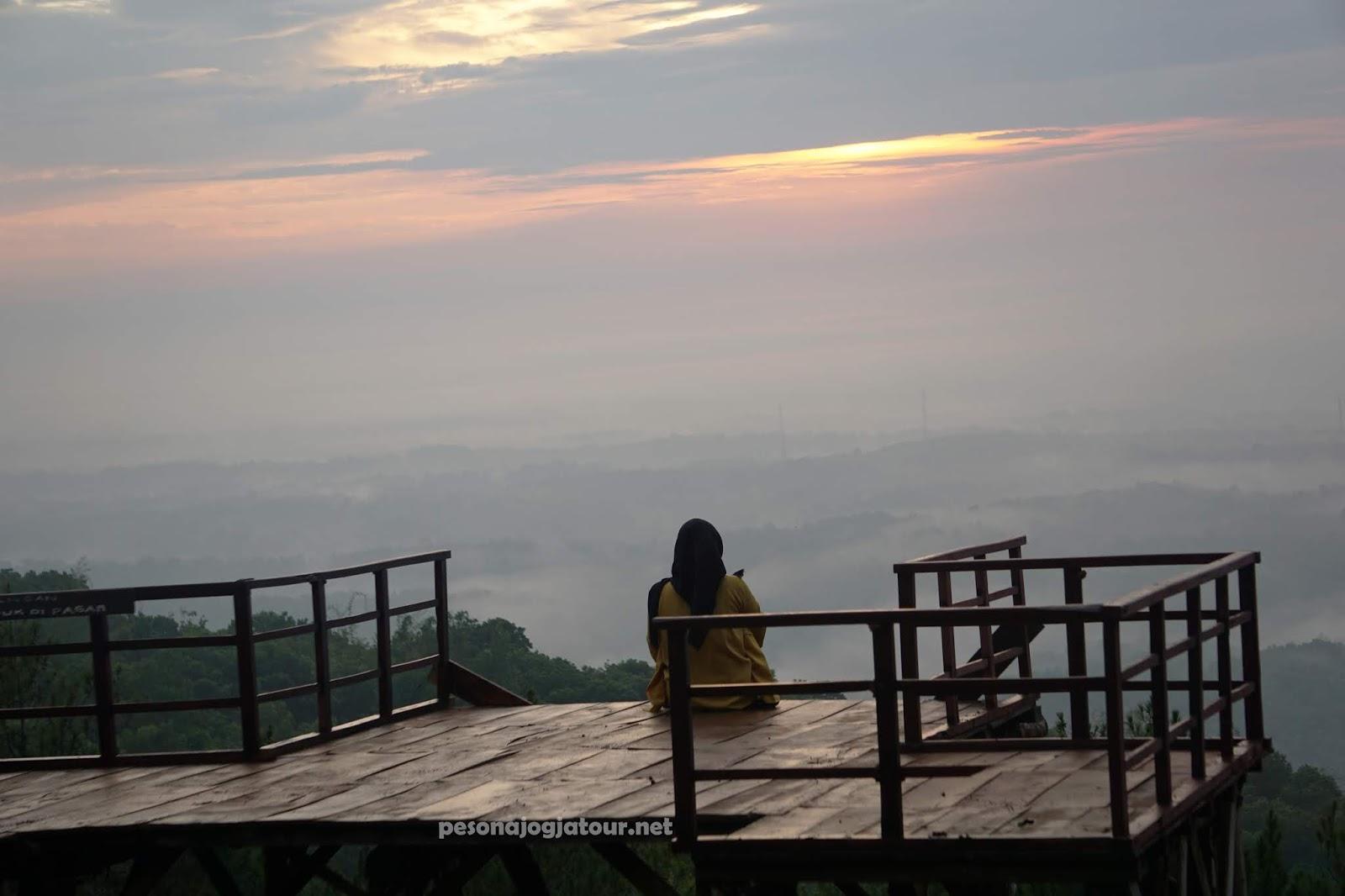 wisata sunrise Jogja Dlingo