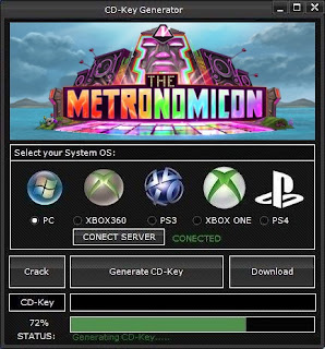 The Metronomicon CD Key Generator (Free CD Key)