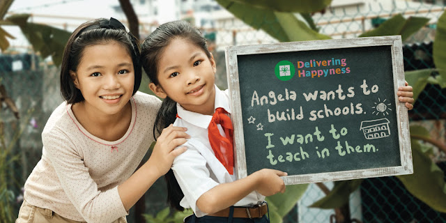 Join Grab Philippines in #DeliveringHappyness to underserved children this Christmas!