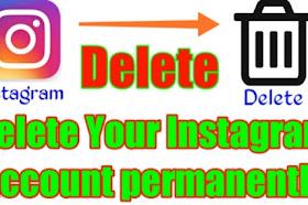 How to delete Instagram account permanently?Instagram account delete kaise kare?