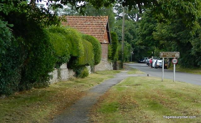 Vila de Chawton, onde Jane Austen morou
