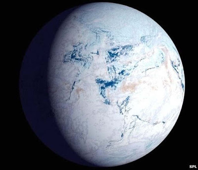"Snowball Earth"" (Terra bola de neve)"