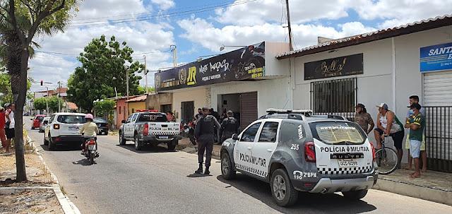 Dono de oficina de motos é morto a tiros dentro do seu estabelecimento em Mossoró, RN