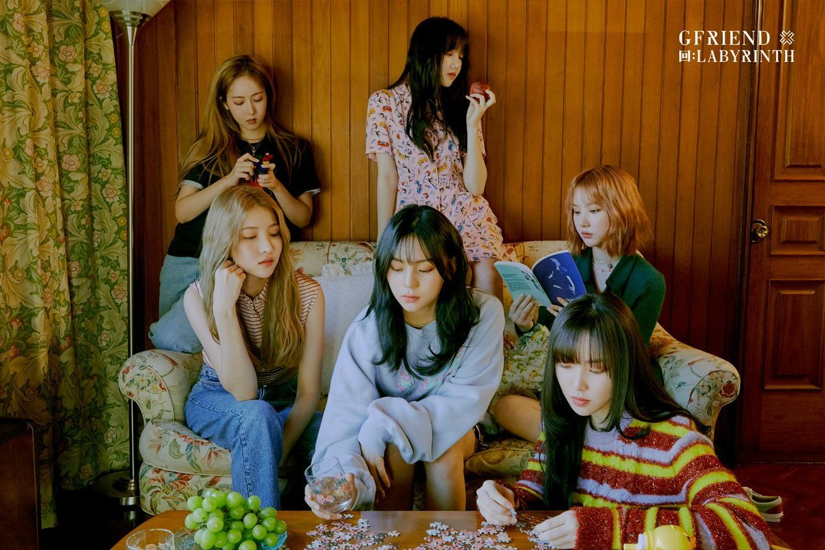 GFRIEND Completes The Filming Process of 'Weekly Idol' Program