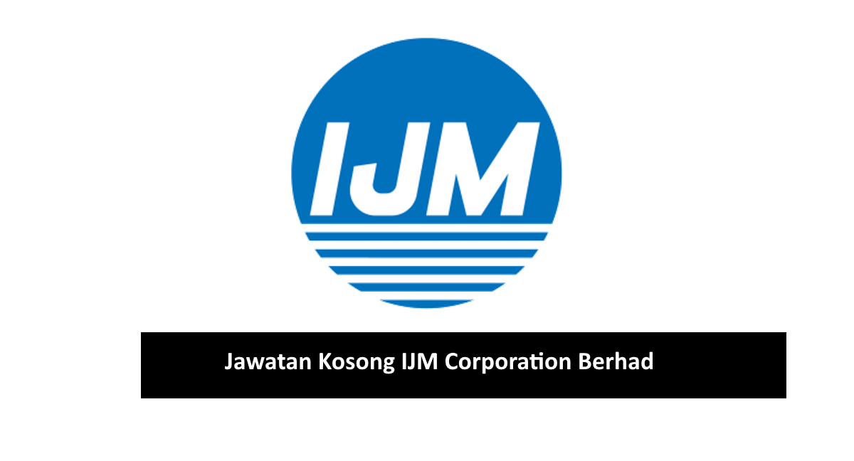 Logo IJM Corporation Berhad. Jawatan Kosong April 2020