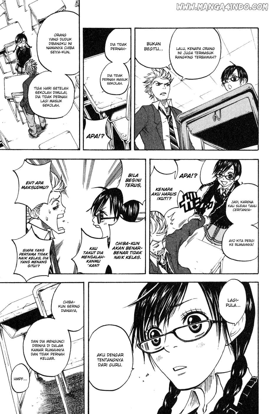 Yankee-kun to Megane-chan Chapter 03-27