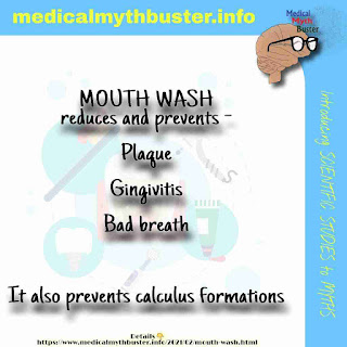 MOUTH WASH - benefits, side effects. Best time to use mouth wash