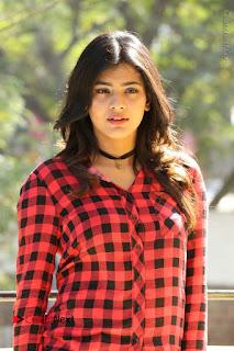 Actress Hebah Patel Stills in Blue Denim Jeans at Nanna Nenu Naa Boyfriends Movie Success Meet  0006.JPG