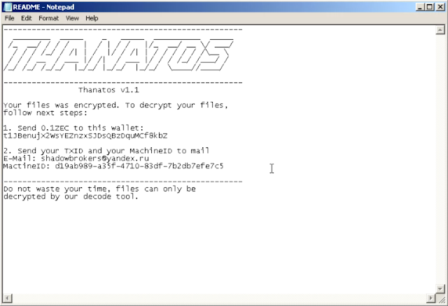 image9 Files Cannot Be Decrypted? Challenge Accepted. Talos Releases ThanatosDecryptor