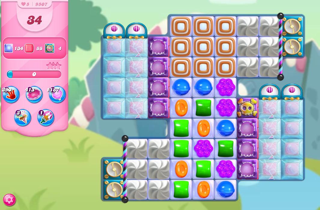 Candy Crush Saga level 9507
