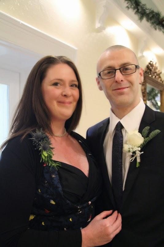 Fiona Amp Michael S Romantic Christmas Wedding At The Grange Hotel In Grange Over Sands