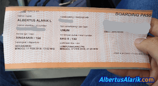 Tiket kereta menuju Yogyakarta