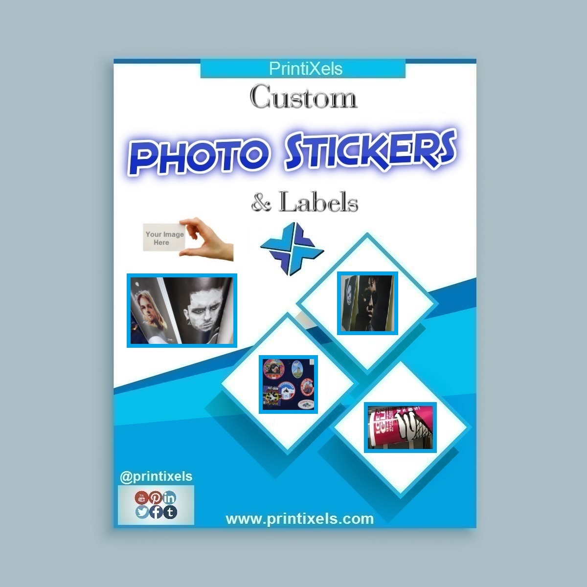 Custom Photo Stickers & Labels
