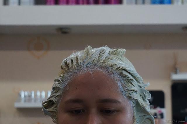 Second bleach using BlondMe