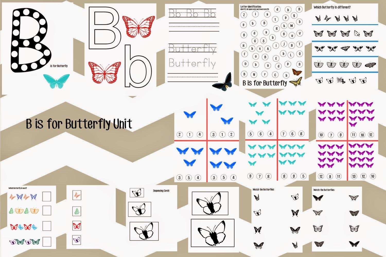 Healthy Momma Talk B Is For Butterfly