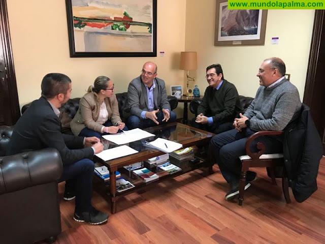 El Cabildo coordina con la ULL la oferta formativa de la Universidad de Verano de La Palma,