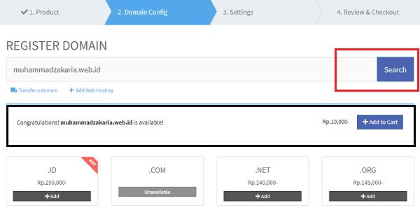 cara mendapatkan domain dari situs idclaudhost
