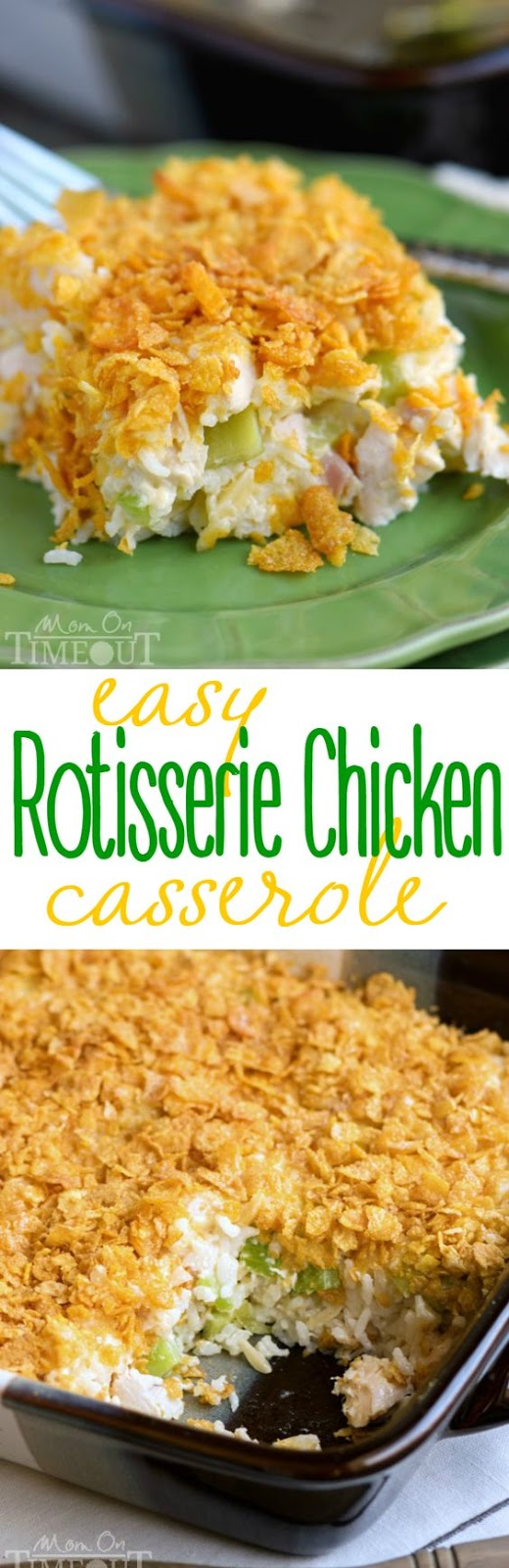 Rotisserie Chicken Casserole Recipe Zero