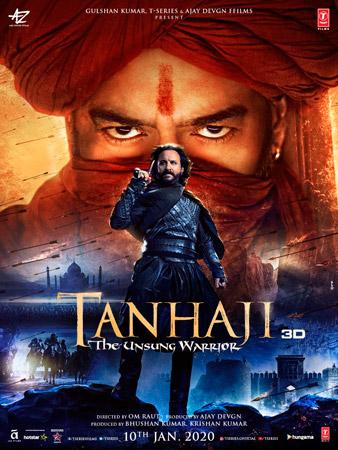 Tanhaji: The Unsung Warrior (2020) Hindi Movie 720p HDRip