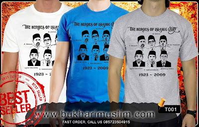 Kaos Tokoh Persatuan Islam