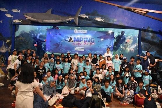 Bermain dan Belajar Bersama di Camping Under The Sea