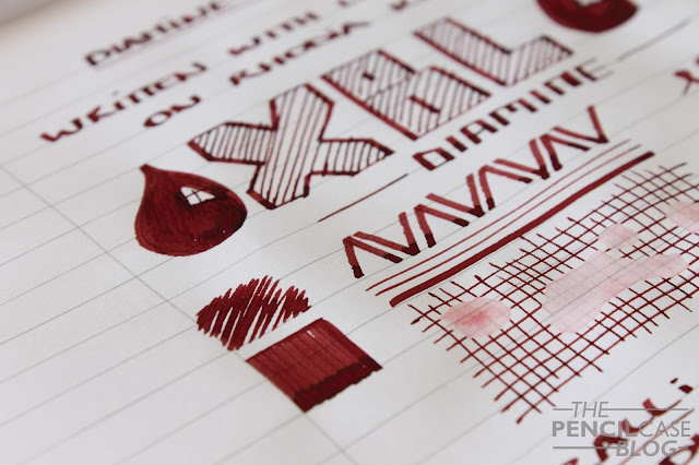Diamine Oxblood ink