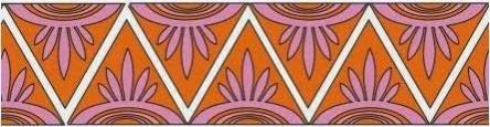 27 Contoh Gambar Ragam Hias Geometris Pada Batik Indonesia 7