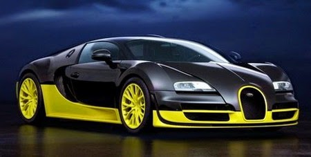 most expensive car in the world Bugatti Veyron Super Sports