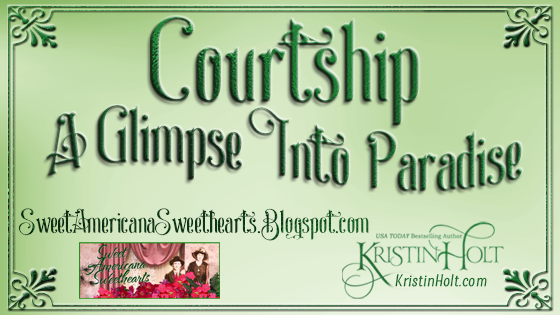 Courtship: A Glimpse into Paradise by Kristin Holt, USA Today Bestselling Author
