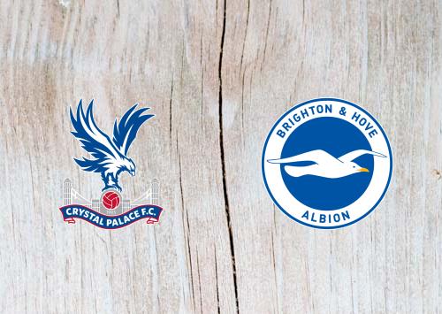 Crystal Palace vs Brighton & Hove Albion -Highlights 16 December 2019