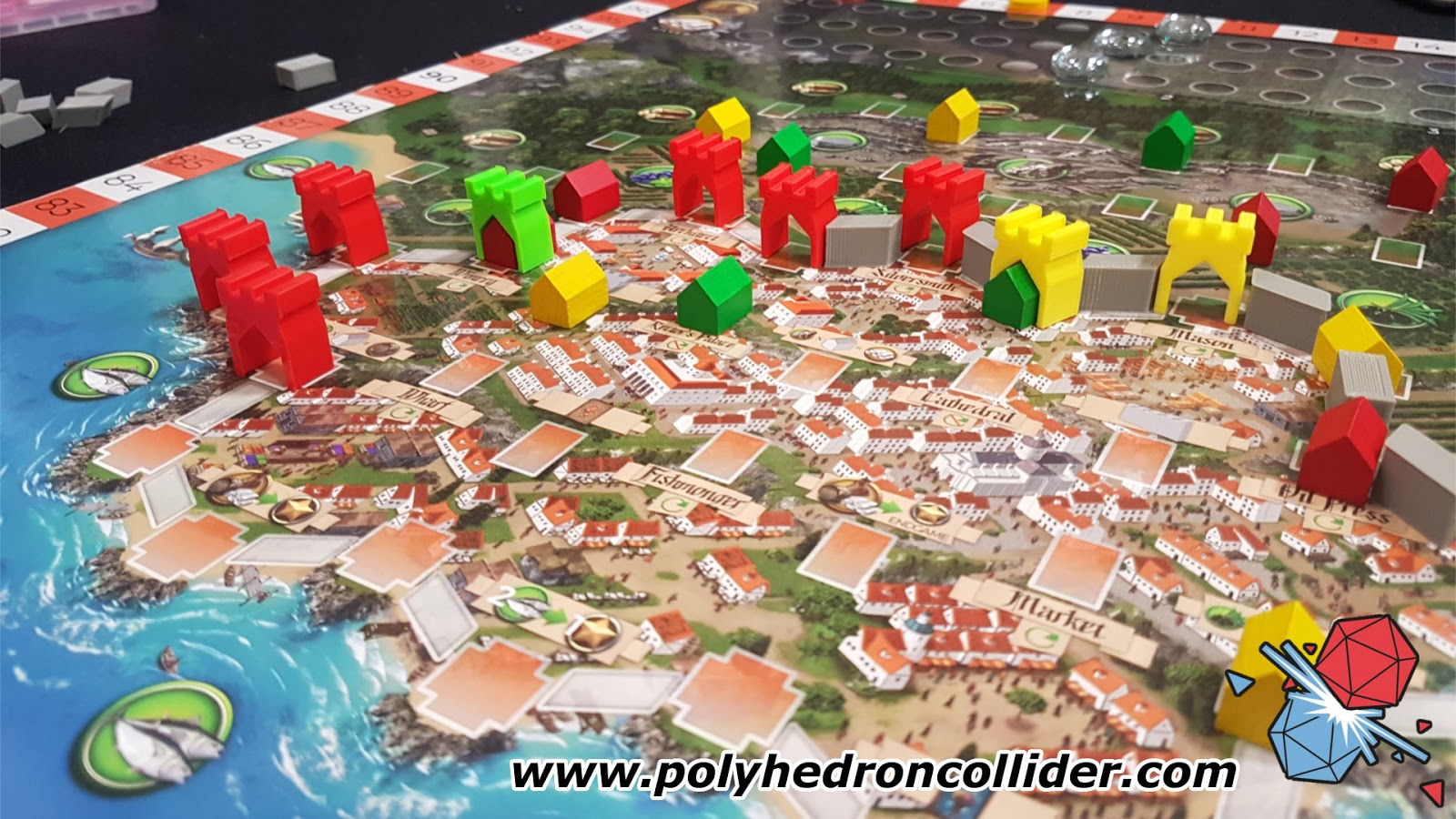 Polyhedron Collider - Board Game News