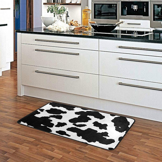 alfombra - cocina - vaca - vacaslecheras.net