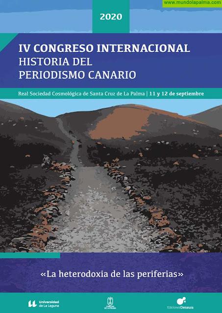 La Palma acogerá en septiembre el IV Congreso Internacional Historia del Periodismo Canario