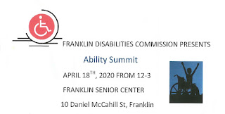 Franklin Disabilities Commission: Ability Summit - April 18