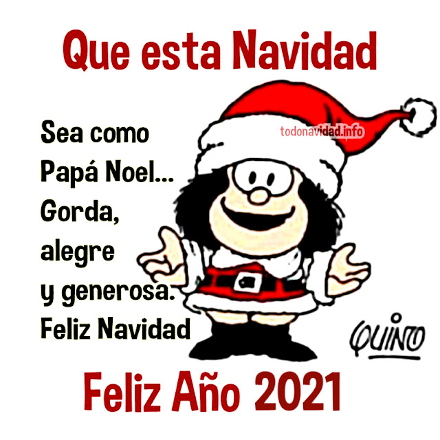 Feliz Año 2021 Mafalda imágenes con frases