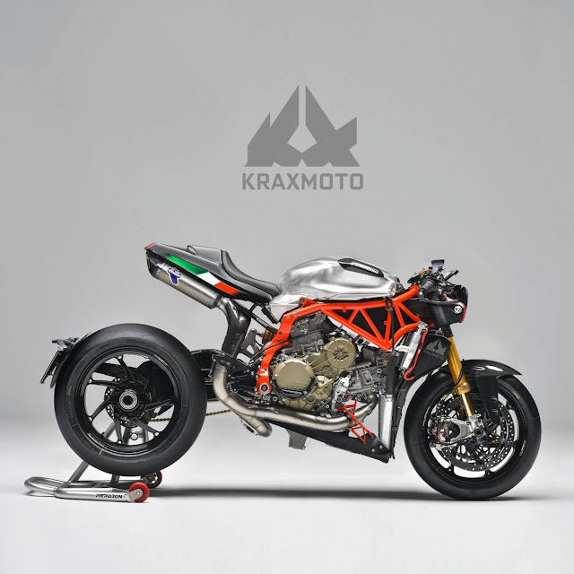 Mashup based upon the Pierobon X85R kit for Ducati Panigale by Krax Moto